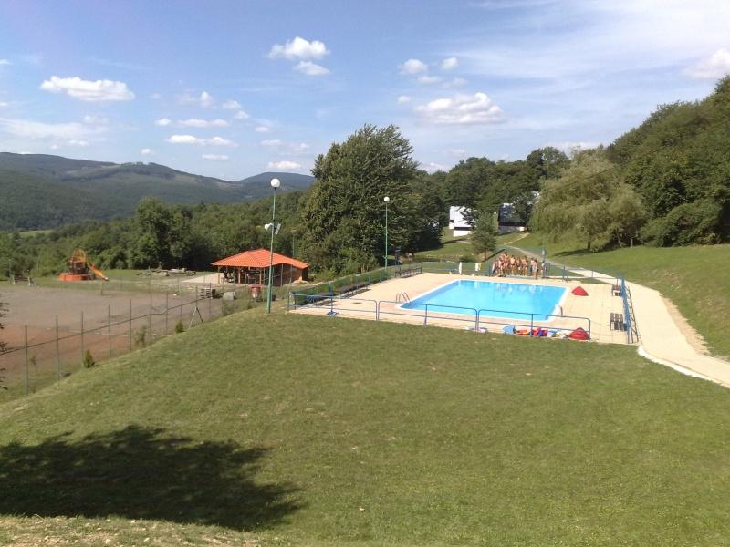 Bazén s ihriskami